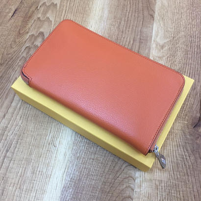 ITTI イッチ WLT 003 BCRISTY STUFFING LONG WLT ALRAN orange ロングウォレット(N)