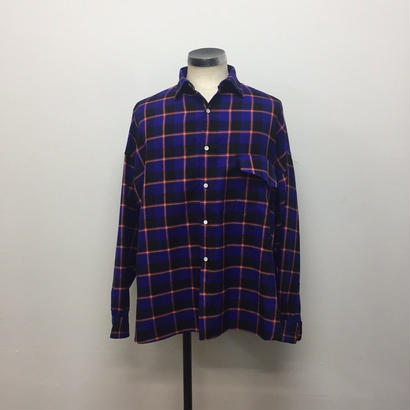 UNITUS(ユナイタス) FW18 Over Shirt Blue Check【UTSFW18-S02】(N)