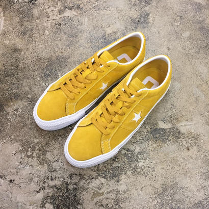 CONVERSE CONS ONE STAR PRO OX 159511C YELLOW/WHITE /MUSTARD(N)