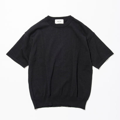 UNITUS(ユナイタス) SS17 S/S Wide Knit Black