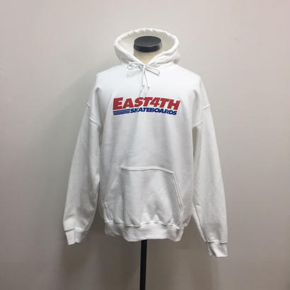 EAST 4th Skate Hoodie White