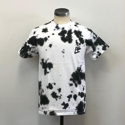 【PIGU HOUSE】【Kenzai.Depot】TENBOX  TEN匣 TIEDYE S/S TEE IEDYE BLACK