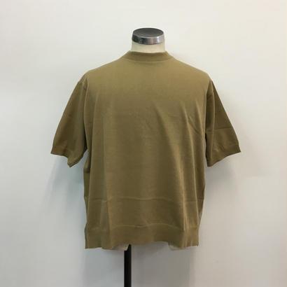 UNITUS(ユナイタス) SS18 Knit & Sewn T Shirts Beige【UTSSS18-CS04】(N)