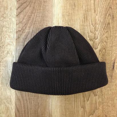 CREPUSCULE クレプスキュール knit cap 2 1803-014  Brown(N)