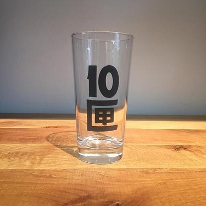 10匣 ビアグラス CLEAR