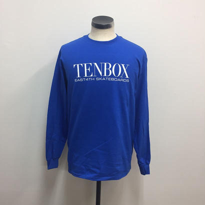 【PIGU HOUSE】【Kenzai.Depot】TENBOX×EAST4TH L/S TEE ROYAL