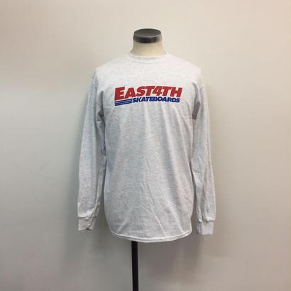 (C) EAST 4TH LOGO  L/S TEE(ASH)