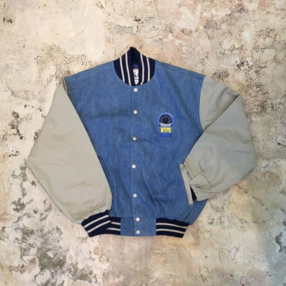 【PIGU HOUSE  VINTAGE】NYC Police Department JK【No,62】