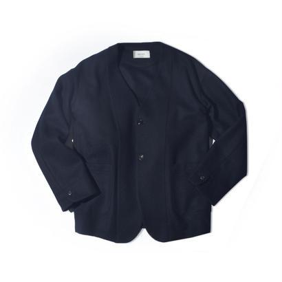 UNITUS(ユナイタス) FW17 No Collar Jacket Navy【UTSFW17-J09】(N)