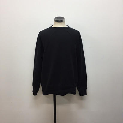 UNITUS(ユナイタス) FW18 Old Raglan Sweat Shirt Black【UTSFW18-CS01】(N)