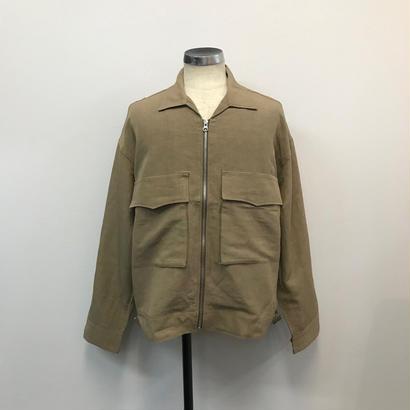UNITUS(ユナイタス) SS18 Fatigue Short Jacket Beige【UTSSS18-J02】(N)