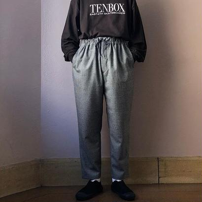 UNITUS(ユナイタス) FW18 Tapared Easy Pant Glen Check【UTSFW18-P05】(N)