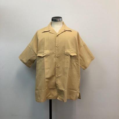 UNITUS(ユナイタス) SS18 Big Aloha Shirts  無地Yellow【UTSSS18-S08】(N)