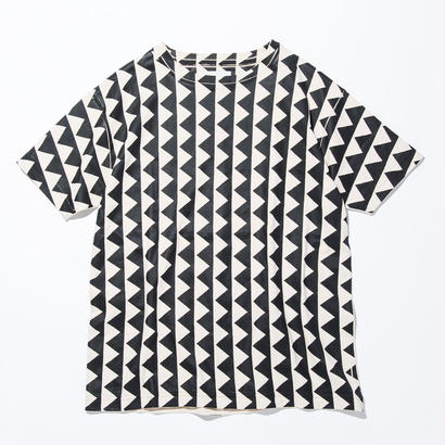 UNITUS(ユナイタス) SS17 Printed T Shirts Triangle