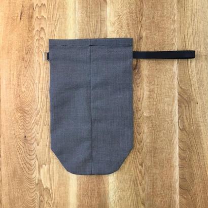 ITTI イッチ  ANNIE RICE BAG II sunbrella /chacoal(N)