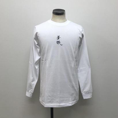 SOWBOW  蒼氓 KANJI LOGO TYPE L/S TEE White(N)