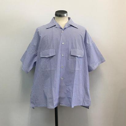 UNITUS(ユナイタス) SS18 Big Aloha Shirts (Striped) Blue【UTSSS18-S07】(N)