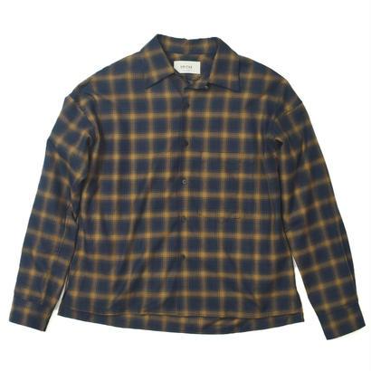 UNITUS(ユナイタス) FW17 Open Collar Shirts Check【UTSFW17-S02】(N)