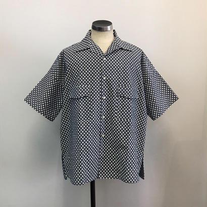 UNITUS(ユナイタス) SS18 Big Aloha Shirts  Dot【UTSSS18-S08】(N)