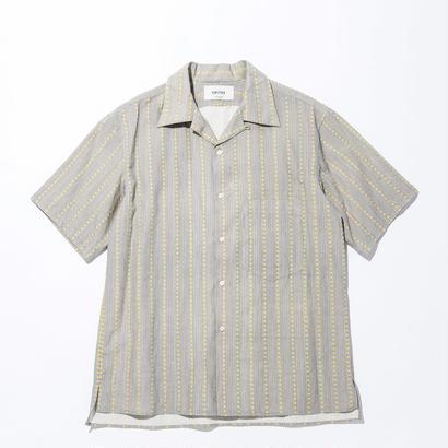 UNITUS(ユナイタス) SS17 Aloha Shirts Yellow Stripe