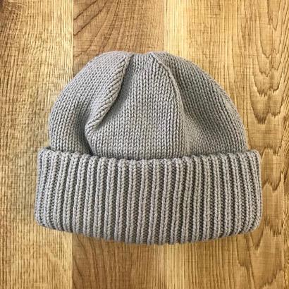 CREPUSCULE クレプスキュール knit cap 1 1803-013  Graybeige(N)