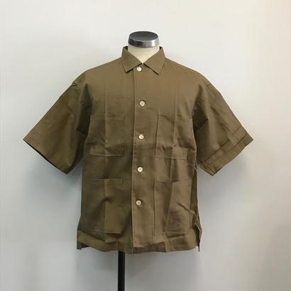 UNITUS(ユナイタス) SS18 Safari Shirts Camel【UTSSS18-S06】(N)