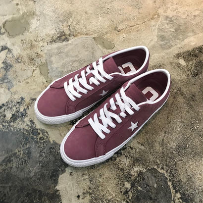 CONVERSE CONS ONE STAR PRO OX 160536C VINTAGE WINE(N)