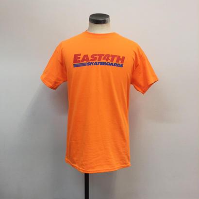 (C) EAST 4TH LOGO TEE(S Orange)