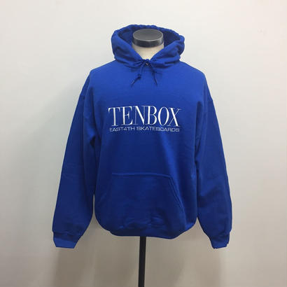 TENBOX×EAST4TH HOODED SWEAT ROYAL