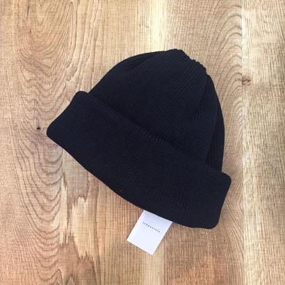 crepuscule クレプスキュール knit cap 1801-011 Black(N)