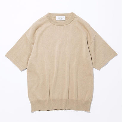 UNITUS(ユナイタス) SS17 S/S Wide Knit Beige(N)