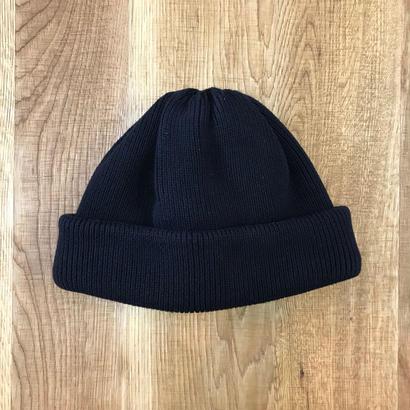 CREPUSCULE クレプスキュール knit cap 2 1803-014  Black(N)