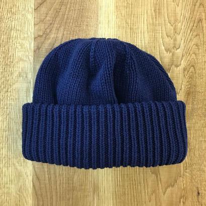 CREPUSCULE クレプスキュール knit cap 1 1803-013  NavyN)
