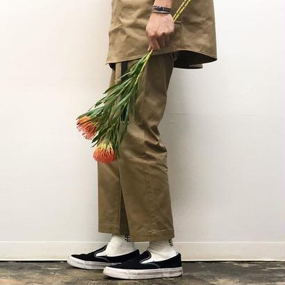 SEE SEE  WORK PANTS BEIGE STUDY SHOWROOM STORE 限定カラー(N)