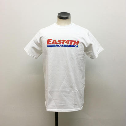 (C) EAST 4TH LOGO TEE(White)