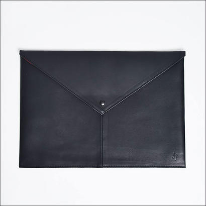 【SALE】LEON FLAM レオンフラム COMPUTER PAD LEATHER BLACK