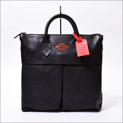 LEON FLAM(レオンフラム) SAC 21H ALLBLACK(ALL LEATHER)