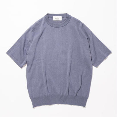 UNITUS(ユナイタス) SS17 S/S Wide Knit Blue(N)
