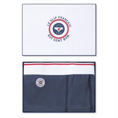 LE SLIP FRANÇAIS(ルスリップフランセ) Cotton Boxer Briefs 【Navy Fragrance】