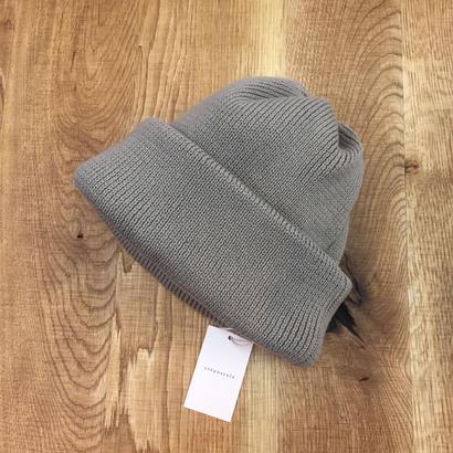 crepuscule クレプスキュール knit cap 1801-011 Graybeige(N)