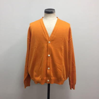 UNITUS(ユナイタス) SS18 Color Block Cardigan Orange【UTSSS18-K02】(N)