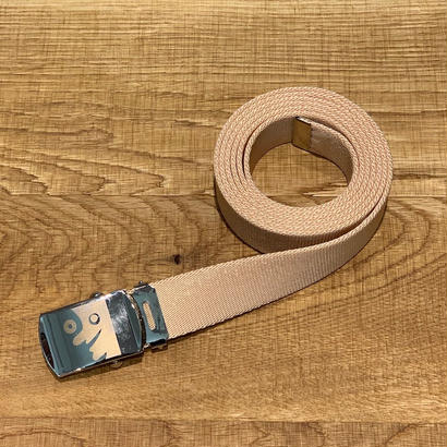 ITTI イッチ BAGBOY GASHA BELT-25mm Beige GOODS-001A(N)