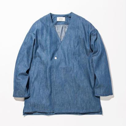 UNITUS(ユナイタス) SS17 Denim Shirts Cardigan Bleach
