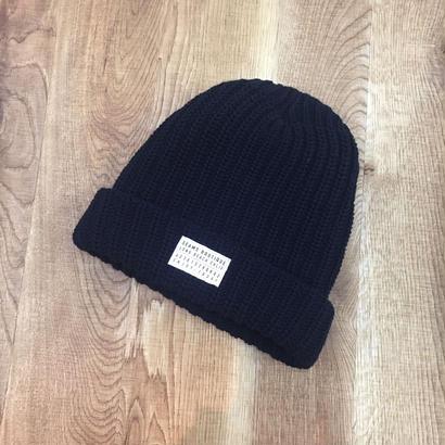 Seams Knit Beanies Black