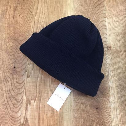 crepuscule クレプスキュール knit cap 1801-011 Navy(N)
