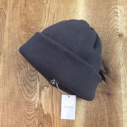 crepuscule クレプスキュール knit cap 1801-011 Gray(N)