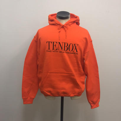 TENBOX×EAST4TH HOODED SWEAT ORANGE