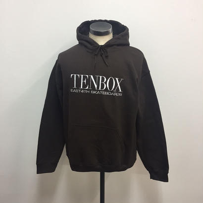 TENBOX×EAST4TH  HOODED SWEAT DARK CHOCOLATE