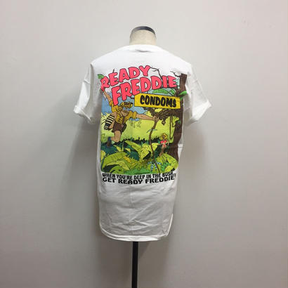 PIGU HOUSE VINTAGE READY FREDDIE TEE(Jungle)