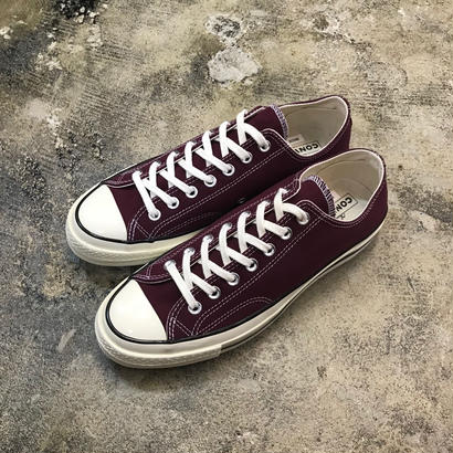 CONVERSE  コンバース  CHUCK TAYLOR ALL STAR '70-OX  DARK BURGUNDY/BLACK/EGRET 162059C  CT70 (N)